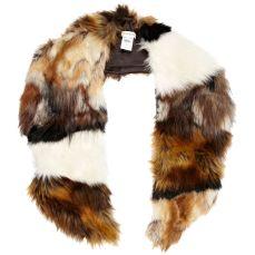 Brown Mixed Faux Fur Collar http://tinyurl.com/m3rqz2z