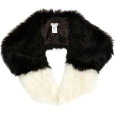 Dip Dye Faux Fur Collar http://tinyurl.com/pdes8vt