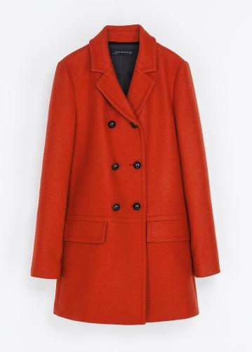 Zara €130 - Short Double Breasted Overcoat http://tinyurl.com/pe9upev
