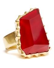 Sam Edelman €46.49 - Large Stone Ring http://tinyurl.com/q6gchep