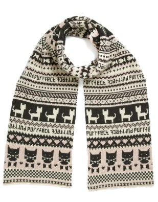 Perfect Kitty Scarf http://tinyurl.com/mnjdvau