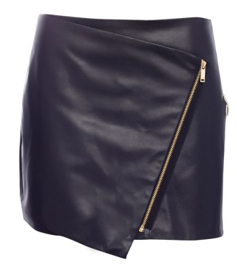 Pull & Bear €27 - Faux Leather with Zip Detail