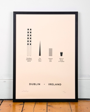 Me & You & Him Dublin Print
