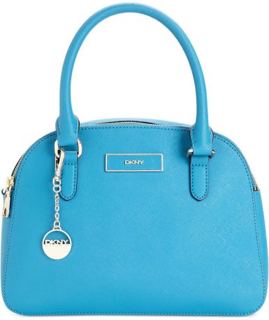 DKNY €215 - Saffiano Leather Round Satchel