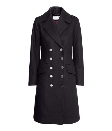 H&M €71 - Double Breasted Coat http://tinyurl.com/nokjhdw