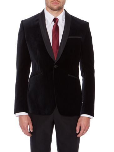 Kenneth Cole Velvet Blazer
