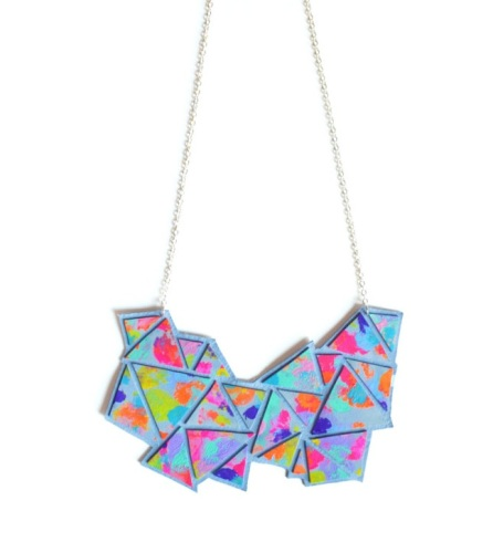 Boo & Boo Factory €49 - Geometric Bib Necklace