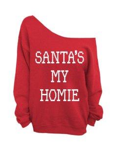 Etsy €21.74 - Santa's My Homie