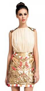 2 in 1 Embellished Bodycon Dress http://www.little-mistress.co.uk/dresses-c101/gold-collection-c42/cream-2-in-1-heavily-embellished-bodycon-dress-p492