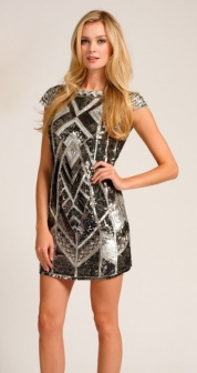 Silver Embellished Minidress http://www.little-mistress.co.uk/dresses-c101/party-dresses-c103/silver-heavily-embellished-sequin-short-sleeve-dress-p1156