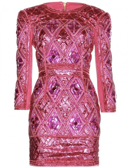 Balmain Embellished Minidress