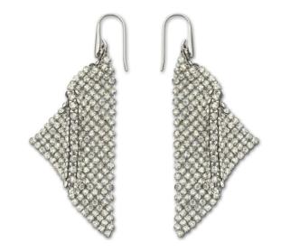 Fit Silver Shade Pierced Earrings
