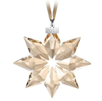 Crystal Gold Star