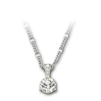 Solitaire Pendant Necklace