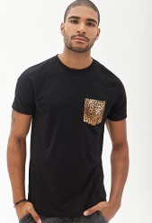 Forever 21 €7.95 - Cheetah Pocket Tee http://bit.ly/1K7uuqR