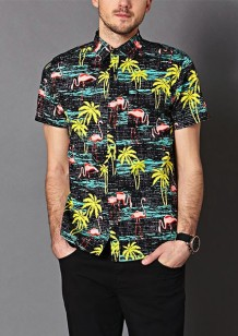 Forever 21 €19.75 - Tropical Print Cotton Shirt http://bit.ly/1xEEUYk