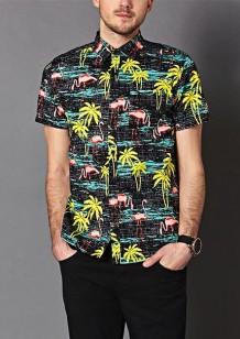 Forever 21 €19.75 - Tropical Print Cotton Shirt http://bit.ly/1xEEUYk