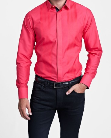 Thomas Pink €180 - glover plain super slim fit button cuff shirt http://bit.ly/1xiU86R