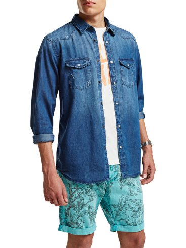 Jack & Jones €39.95 - Denim Shirt http://bit.ly/1DeFApq