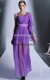 €149 - Sparkly Lilac Pleated Debs Dress http://www.fannycrown.com/pretty-bateau-long-lilac-evening-dresses.html