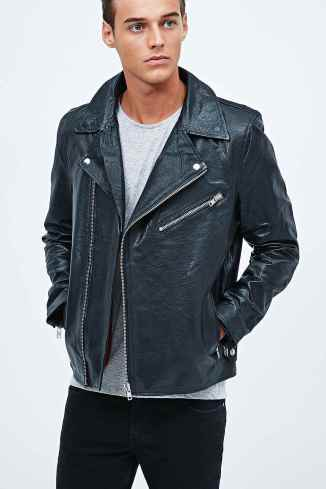 Selected Homme €165 - Biker Leather Jacket http://bit.ly/1HnRcJ7