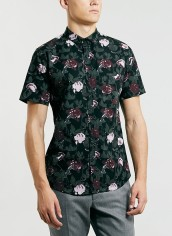 Topman €17.87 - dark floral shirt http://bit.ly/1tzahzE