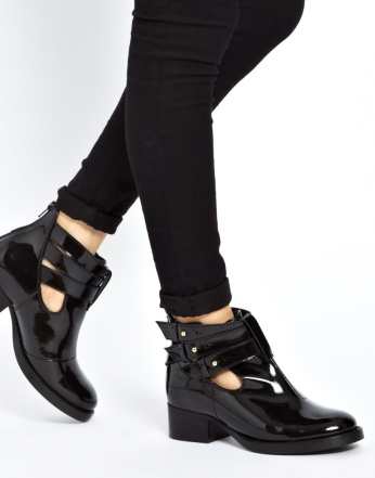 ASOS AFTER ALL €75.34 - Cut Out Ankle Boots http://tinyurl.com/oyjj5d3