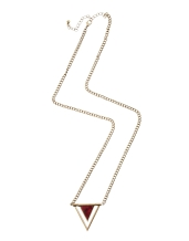 ASOS €13.70 - Semi Precious Pendant Necklace http://tinyurl.com/kdbynqm