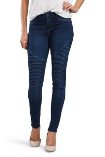 ONLY €49.95 - Corak Regular Biker Skinny Jeans http://bit.ly/22g7w9g