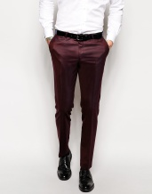 Noose & Monkey €92.86 - Pindot Suit Trousers In Skinny Fit http://bit.ly/1xpBOZy