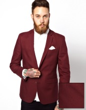 ASOS €92.86 - Slim Fit Blazer In Cotton http://bit.ly/1BrP0wm