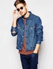 Paul Smith Jeans €227.15 - Denim Jacket http://bit.ly/1Ap363v