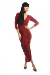Dresses.ie €35 - Kim Draped Midi Dress http://bit.ly/1MlLtbl