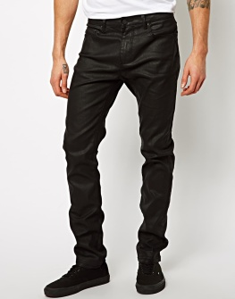 Pull & Bear €35.60 - Coated Jean http://tinyurl.com/q59hydd