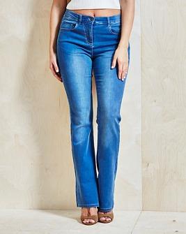 Simply Be €34.99 - Kim Bootcut Jeans Reg http://bit.ly/1Xqzeg8