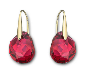 Swarovski €55 - Galet Pierced Earrings http://tinyurl.com/p46l8rp