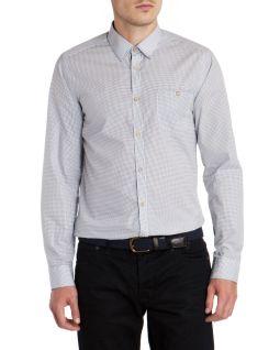 Ted Baker €73 - SPOTROK Spot print shirt http://tinyurl.com/l5tybmr