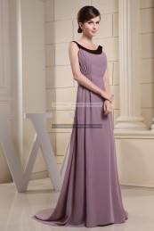 €109 - Chic Bateau Long Brown Evening Dresses http://www.fannycrown.com/chic-bateau-long-brown-evening-dresses.html