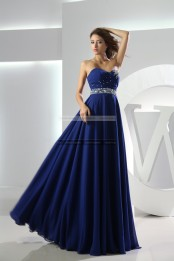 €169 - Chic Sweetheart Long Royal Blue Prom Dresses http://www.fannycrown.com/chic-sweetheart-long-royal-blue-prom-dresses.html