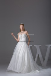 €339 - Elegant Sweetheart Long Ivory Prom Dresses http://www.fannycrown.com/elegant-sweetheart-long-ivory-prom-dresses.html