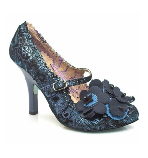 Irregular Choice 'Cortesan Floral Bar'