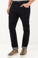 River Island €55 - Dark Wash Tony Slouch Taper Jeans http://bit.ly/1PNZ0HH