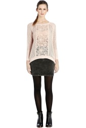 Warehouse €55 - Lace Insert Block Jumper http://tinyurl.com/mv9xo3j