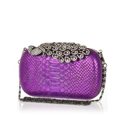 River Island €40 - Diamante Peack Box Clutch http://tinyurl.com/pwd8ufh