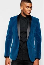 ASOS €113.74 - Skinny Blazer In Velvet http://bit.ly/1LZToXn