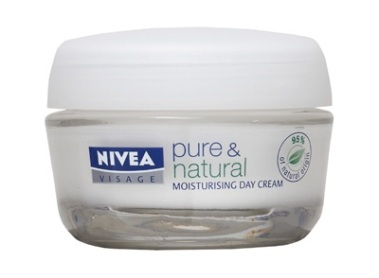 Nivea Visage 'Pure & Natural Day Cream for Normal/Combination Skin'