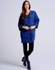 Girls On Film €57.52 - Wrap Over Parka Jacket http://bit.ly/1phDBON