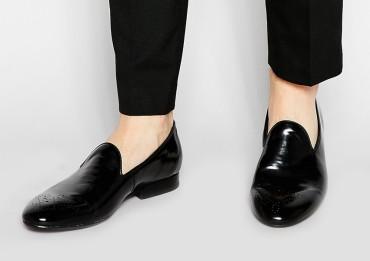 H By Hudson €142.18 - Fleet Patent Dress Slippers http://bit.ly/1KQv7Dc