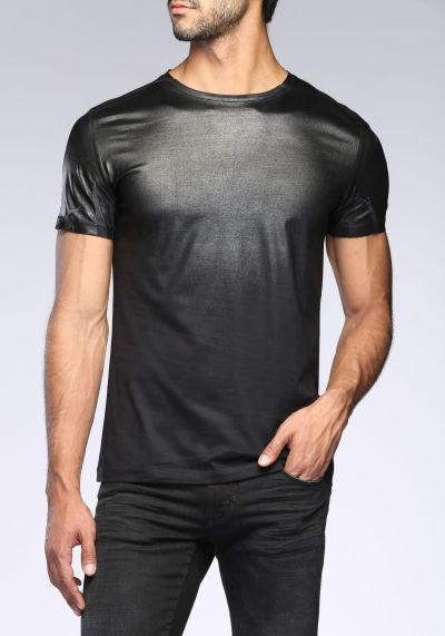 Antony Morato €59.90 - Faded Leather Like T-shirt http://bit.ly/1MYUw3h