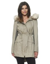 Lipsy €102.26 - Faux Fur Collar Parka http://bit.ly/1GjTKYU